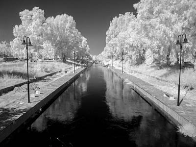 Infrared River Print by Stavros Argyropoulos
