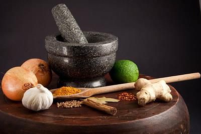 Stew Photograph - Ingredients by Tom Gowanlock