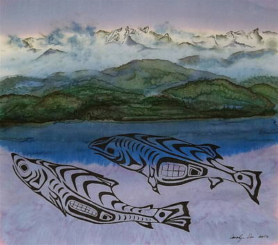 Inland Passage Original by Carolyn Doe