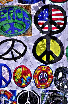 Inner Peace Print by Juls Adams
