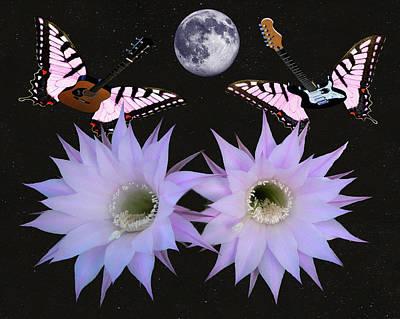 Blue Butterfly Digital Art - Input  by Eric Kempson
