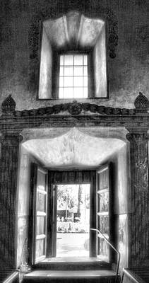 Adobe Church Photograph - Inside Outside Worlds by Steven Ainsworth