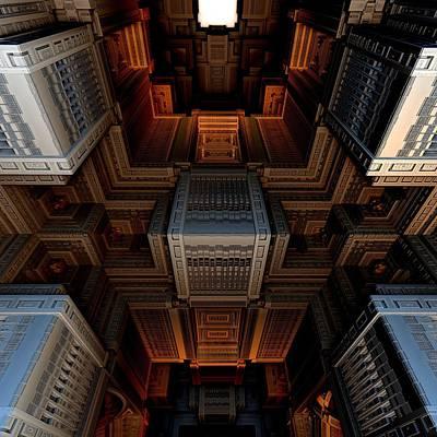 Inside The Box Print by Ricky Jarnagin
