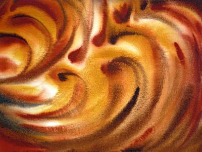 Abstract Movement Painting - Inspiration One   by Irina Sztukowski
