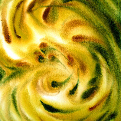 Abstract Movement Painting - Inspiration Three B by Irina Sztukowski
