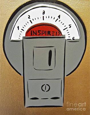 Inspired Meter Print by Tom Evans
