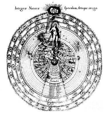 Macrocosm Photograph - Integrae Naturae, 17th Century by Science Source