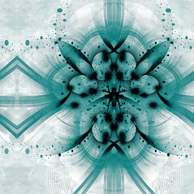 Intelligent Design 2 Print by Angelina Vick
