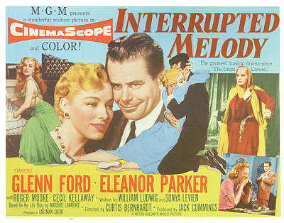 Interrupted Melody, Center From Left Print by Everett