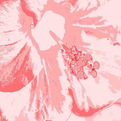 Digital Art - Intimate Pink  by Keren Shiker