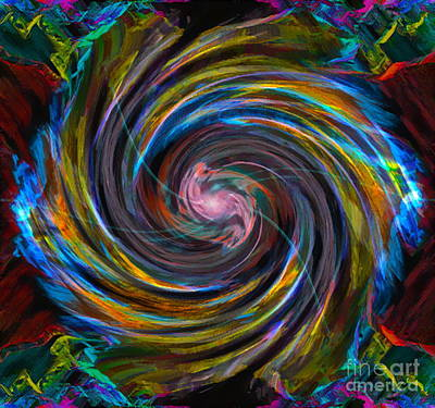 Esp Digital Art - Intuition by Gwyn Newcombe