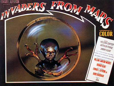 Invaders From Mars, Poster, 1953 Print by Everett