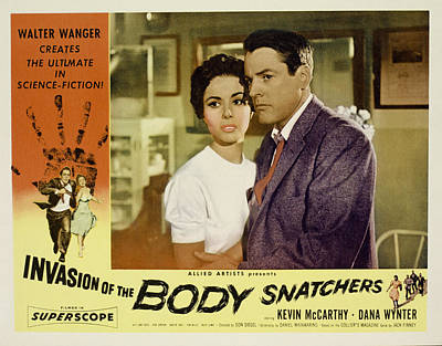 Invasion Of The Body Snatchers Print by Everett