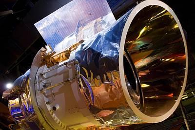 Iras Infrared Astronomy Satellite Print by Mark Williamson