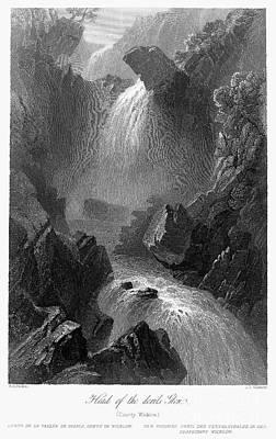Ireland: Devils Glen, C1840 Print by Granger