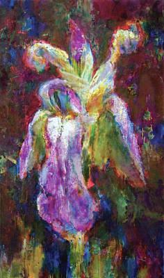 Iris Vrubel Print by Petro Bevza