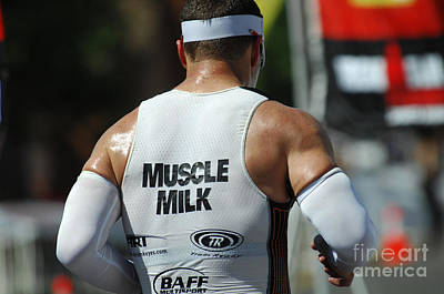 Triathlon Photograph - Ironman Muscle Milk by Bob Christopher