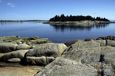 Penobscot Bay Photograph - Island In The Bay by Thomas R Fletcher