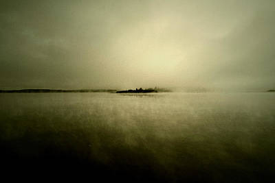 Island Of Mystic  Print by JC Photography and Art