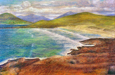 Scotland Painting - Isle Of Lewis Beach - Western Isles - Scotland by Ronald Haber