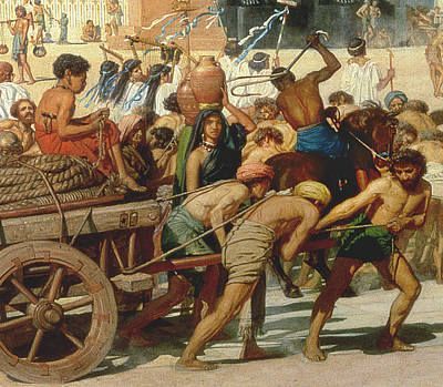 Water Jug Painting - Israel In Egypt by Sir Edward John Poynter