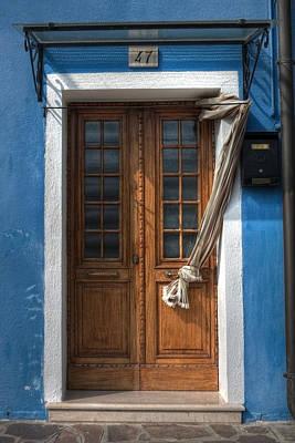 Letter Box Photograph - Italy Old Door by Joana Kruse