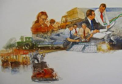 Its A Job Original by Cliff Spohn