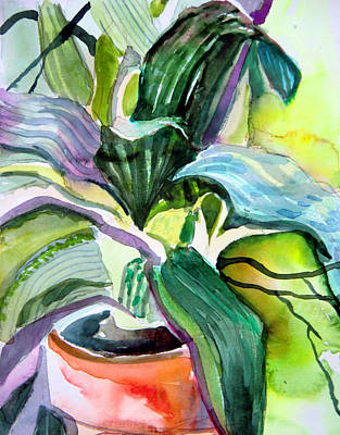 It's Just A House Plant Original by Mindy Newman