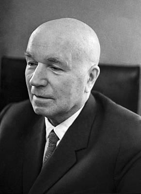 Ivan Vinogradov, Soviet Mathematician Print by Ria Novosti