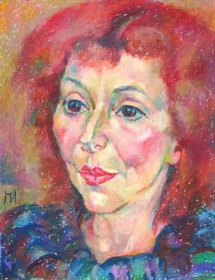 Ivanka Stoyanova Print by Leonid Petrushin
