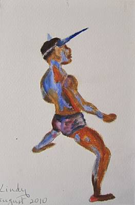 Jab Painting - Jab Jab by Jennylynd James