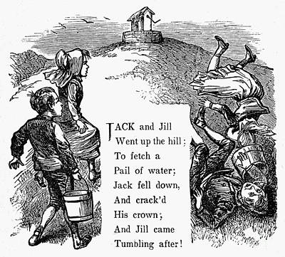 Jack And Jill Print by Granger