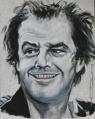 Jack Nicholson Painting - Jack  by Eric Dee