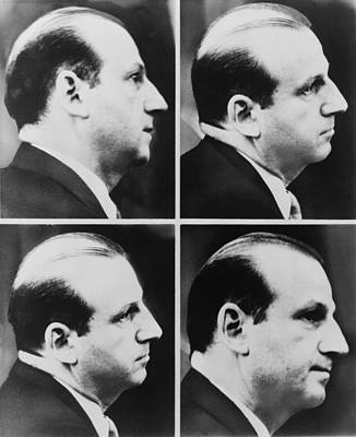 Jack Ruby 1911-1967 During His Trial Print by Everett