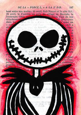 Jack Skellington Print by Jera Sky