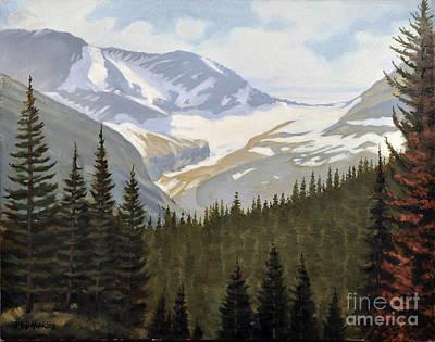 Phil Hopkins Painting - Jackson Glacier by Phil Hopkins