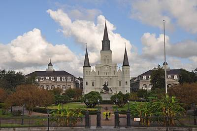 Jackson Square New Orleans Print by Bill Cannon