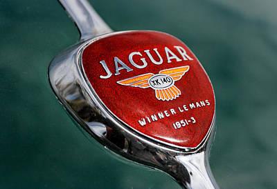 Jaguar Winner Le Mans Print by Kristan Barnes