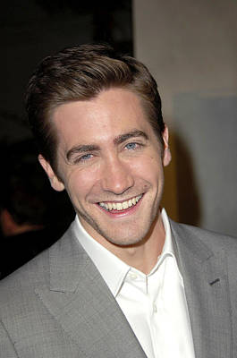 Jake Gyllenhaal At Arrivals For Jarhead Print by Everett
