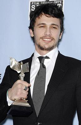 James Franco In The Press Room Print by Everett