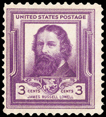 James Russell Lowell Print by Granger