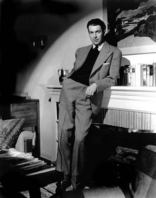 Colbw Photograph - James Stewart, Portrait by Everett