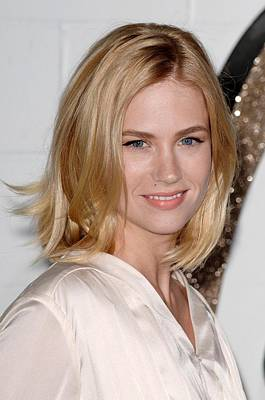 Chloe Photograph - January Jones At Arrivals For Chloe Los by Everett