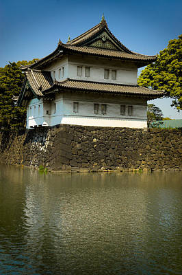 Moat Photograph - Japan Castle by Sebastian Musial