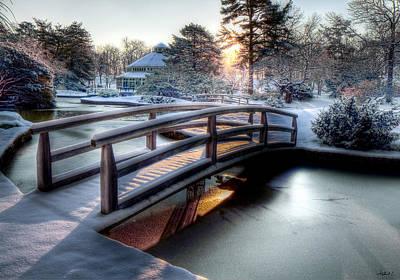 Photograph - Japanese Bridge by Stephen EIS