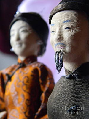 Doll Photograph - Japanese Elders by Anita V Bauer