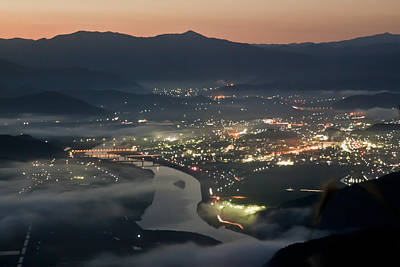 Eyal Photograph - Japanese Night by Eyal Bartov