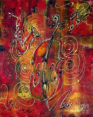 Jazz Print by Greg and Linda Halom