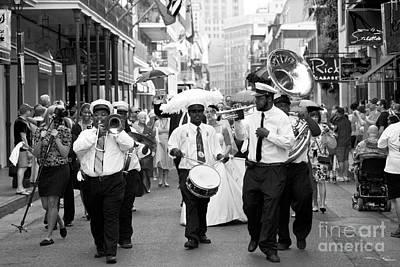 Leda Photograph - Jazz Wedding by Leslie Leda