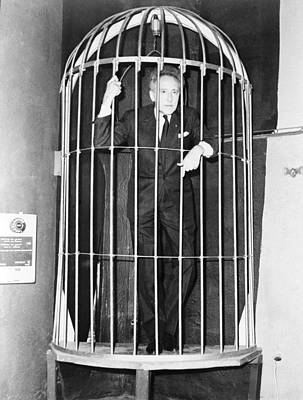 Film Maker Photograph - Jean Cocteau 1889-1963, Inside A Huge by Everett
